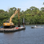 Mobilizing for Manatee Pocket Dredge