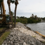River Club Marina – Rip Rap Wall Repair